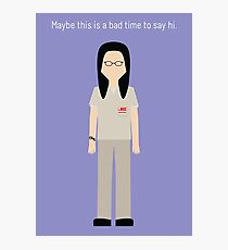 "Alex Vause: ""Say Hi"" Photographic Print"