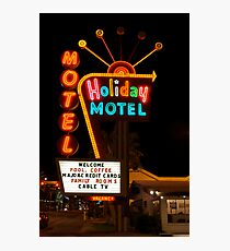 Vegas Motel Photographic Print