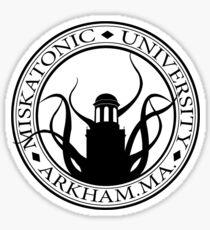 Miskatonic U. Sticker