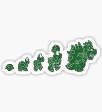 Ascent of Koopa (Green) Sticker