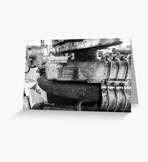 Leyland engine, Greeting Card