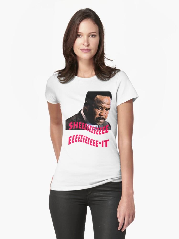 "Clay Davis ""sheeeeee-it"" Womens T-Shirt Front"