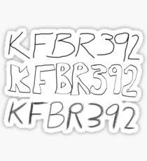 KFBR392 KFBR392 KFBR392 Sticker