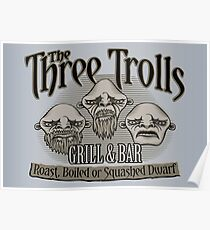 The Three Trolls Poster