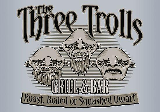 The Three Trolls by DoodleDojo