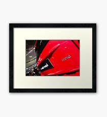 Smart Fortwo mhd Coupe Logo [ Print & iPad / iPod / iPhone Case ] Framed Print