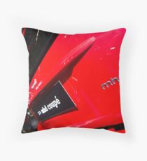 Smart Fortwo mhd Coupe Logo [ Print & iPad / iPod / iPhone Case ] Throw Pillow
