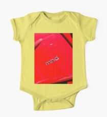 Smart Fortwo mhd Coupe Logo [ Print & iPad / iPod / iPhone Case ] One Piece - Short Sleeve