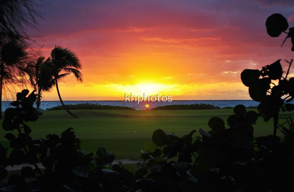 Golf Course Sunrise by khphotos