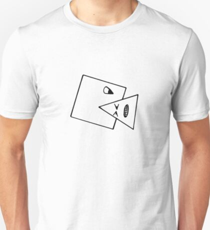 Triangle Muncher T Shirt (Outline) T-Shirt