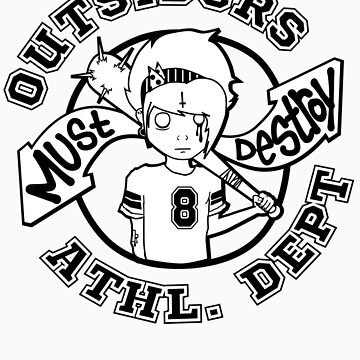 Outsiders - Light Tee's by MustDestroy