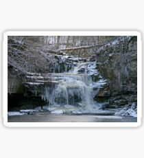 Frozen Falls Sticker