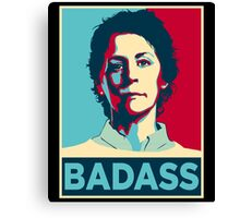 CAROL PELETIER BADASS (The Walking Dead) Canvas Print