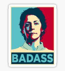 CAROL PELETIER BADASS (The Walking Dead) Sticker