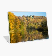 The House in the Woods - Travel Photography Laptop Skin