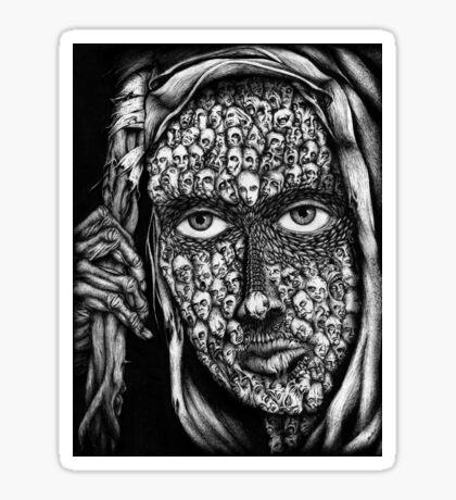 Phantom Stranger Sticker
