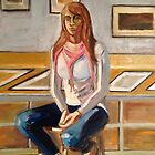 Lauren on a stool  2012 by center555