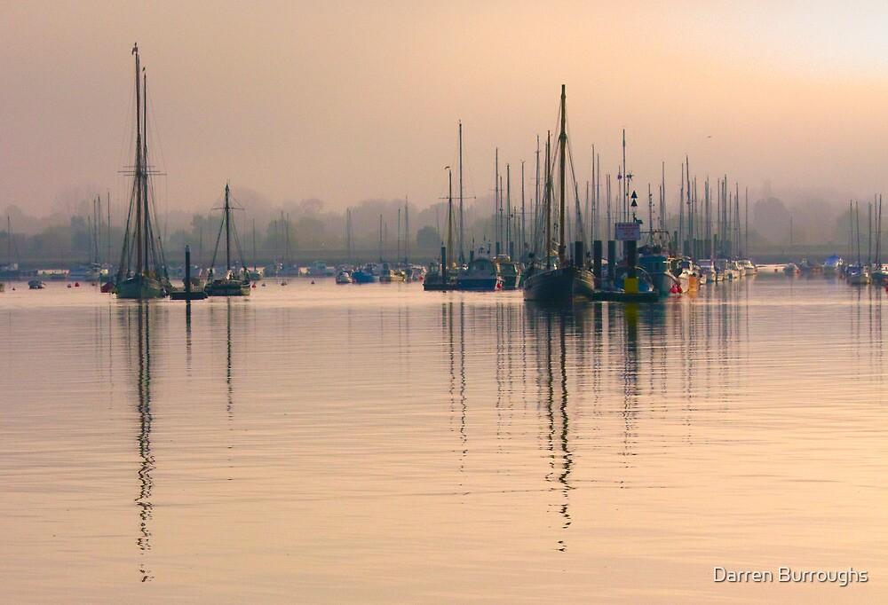 Tall Mast at Sunrise by Darren Burroughs