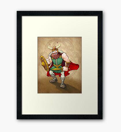 Viking Warrior Framed Print
