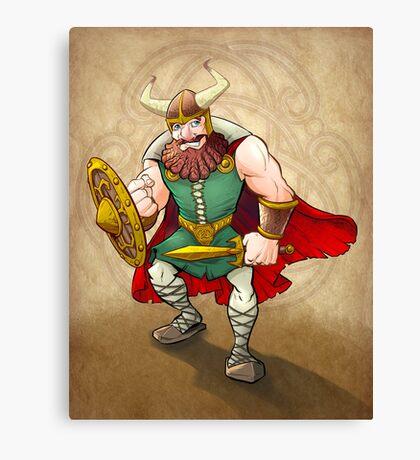 Viking Warrior Canvas Print