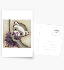 Ferret Toy Postcards