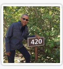 obama 420 Sticker