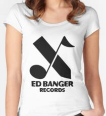 Ed Banger Records - Logo Women's Fitted Scoop T-Shirt