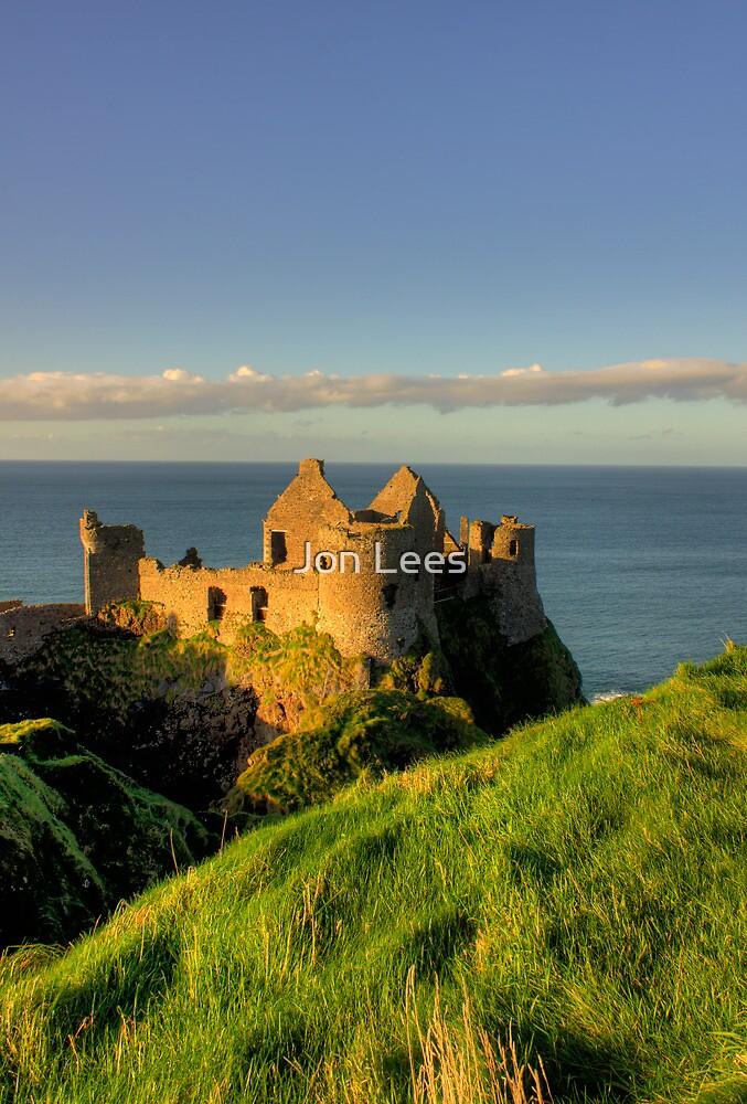 Dunluce Castle Ruins by Jon Lees