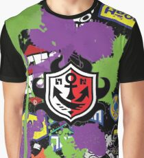 Splatoon Inspired: Ink Splat Brand Graphic T-Shirt