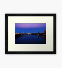 Roebling Connecting Two Cities Framed Print