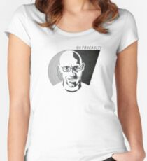 Oh Foucault!  Women's Fitted Scoop T-Shirt