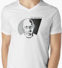 Oh Foucault!  Men's V-Neck T-Shirt