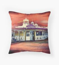Victorian Tea Rooms Throw Pillow