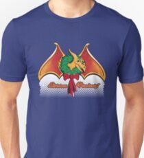 Christmas Pterodactyl Unisex T-Shirt
