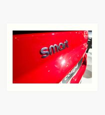 Smart Fortwo mhd Coupe Smart Logo [ Print & iPad / iPod / iPhone Case ] Art Print
