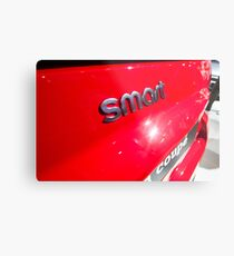Smart Fortwo mhd Coupe Smart Logo [ Print & iPad / iPod / iPhone Case ] Metal Print