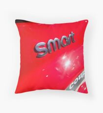 Smart Fortwo mhd Coupe Smart Logo [ Print & iPad / iPod / iPhone Case ] Throw Pillow