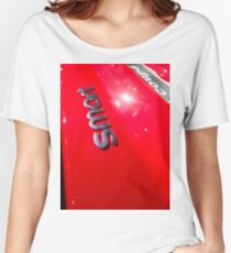 Smart Fortwo mhd Coupe Smart Logo [ Print & iPad / iPod / iPhone Case ] Women's Relaxed Fit T-Shirt