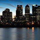 London skyline by Magdalena Warmuz-Dent
