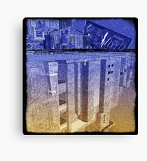 Utopia city Canvas Print