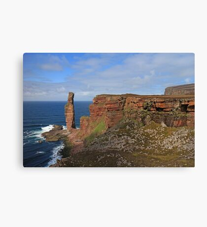 The Old Man of Hoy Canvas Print