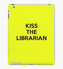 Kiss the librarian iPad Case/Skin