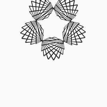 Hypotrochoid Super Star by geometee