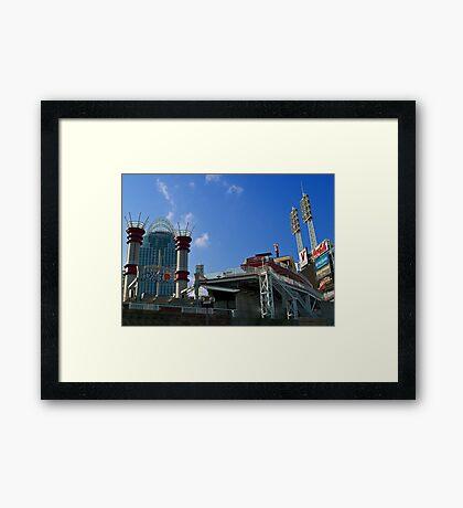 Reds Stadium Cincinnati Framed Print
