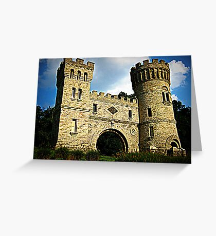 The Castle Cincinnati Greeting Card