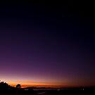 Sunrise on Mount Dandenong by modernistdesign