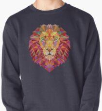 Geometric Lion Pullover