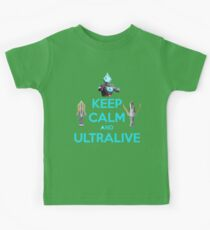 Keep Calm and Ultralive Ultraman Ginga Kids Clothes