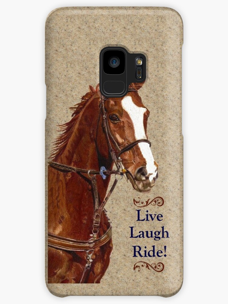 Live Laugh Ride Horse Iphone Ipad Or Ipod Case Cases Skins For