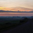 Rolling Hills to Sunrise by Scott Hendricks